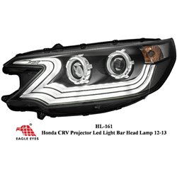 HONDA CRV 2013 - 2015: EAGLE EYES LED Light Bar Projector Head Lamp [HL-161]