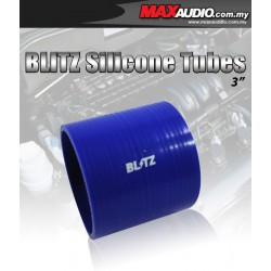 """BLITZ 3.5"""" Inch 3 Layer Racing Silicone Straight Coupler Tubes"""