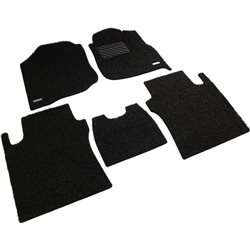HONDA CITY GM2/ 3 2009 - 2013 Custom Made Full Sets OEM Coil Mat Carpet (Black)