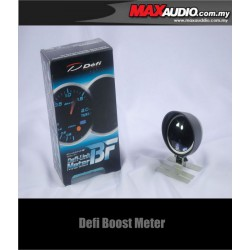 DEFI BF LINK 3 LED Color Smoke Gauge Turbo Boost Meter with Peak Light
