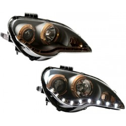 PROTON GEN2/ PERSONA: EAGLE EYES TITANIUM EDITION Starline LED DLR Daylight Projector Head Lamp [HL-072-4]