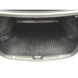 HYUNDAI ELANTRA MD 2011 - 2015 ORIGINAL ABS Rubber Anti Non Slip Rear Trunk Boot Cargo Tray Made in Korea