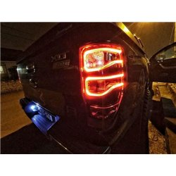 FORD RANGER T6 2011 - 2015 EAGLE EYES Full Smoke E-Style LED Light Bar Tail Lamp [TL-262-1]