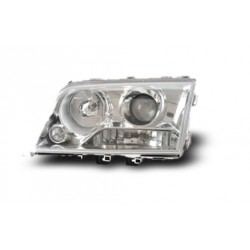 EAGLE EYES HL-014-BENZ MERCEDES-BENZ W202 '94 - '99 Chrome Projector Headlamp [HL-014-BENZ]